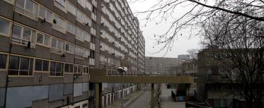 South London estate banner